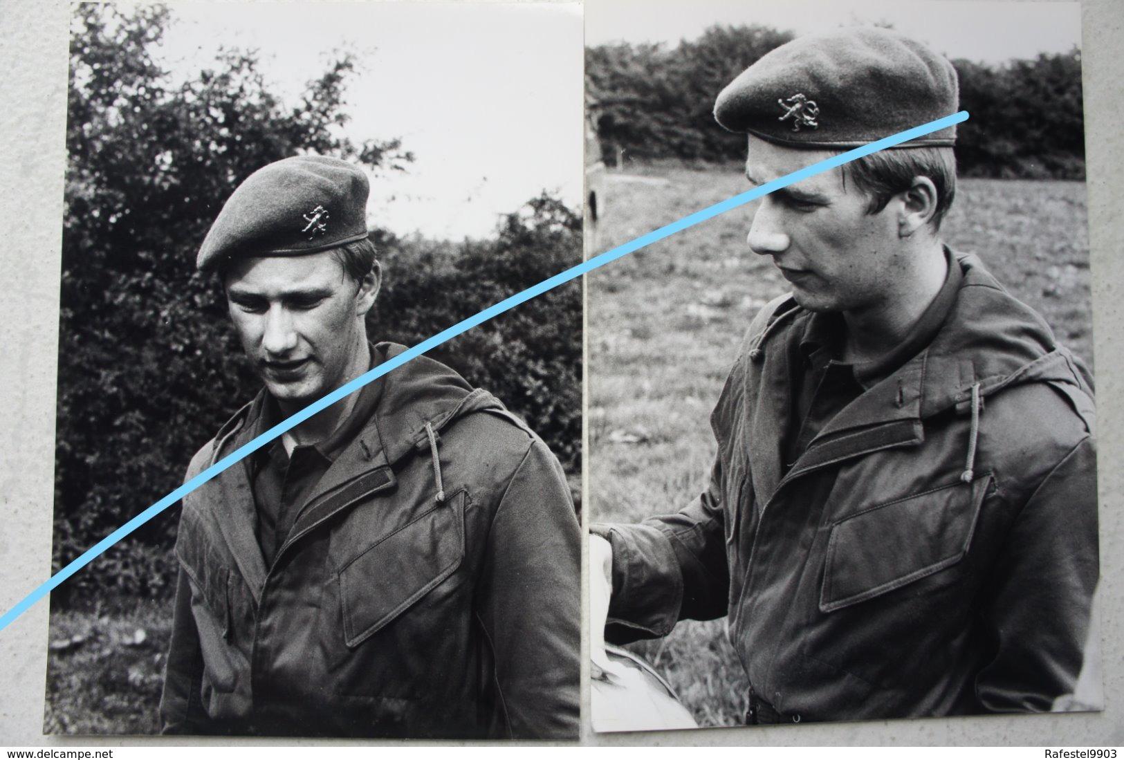 Photox5 Koning Filip Philippe Van Belgïe Royauté Service Militaire Ecole Militaire Militaria Armée Belge Belgische Leger - Guerre, Militaire