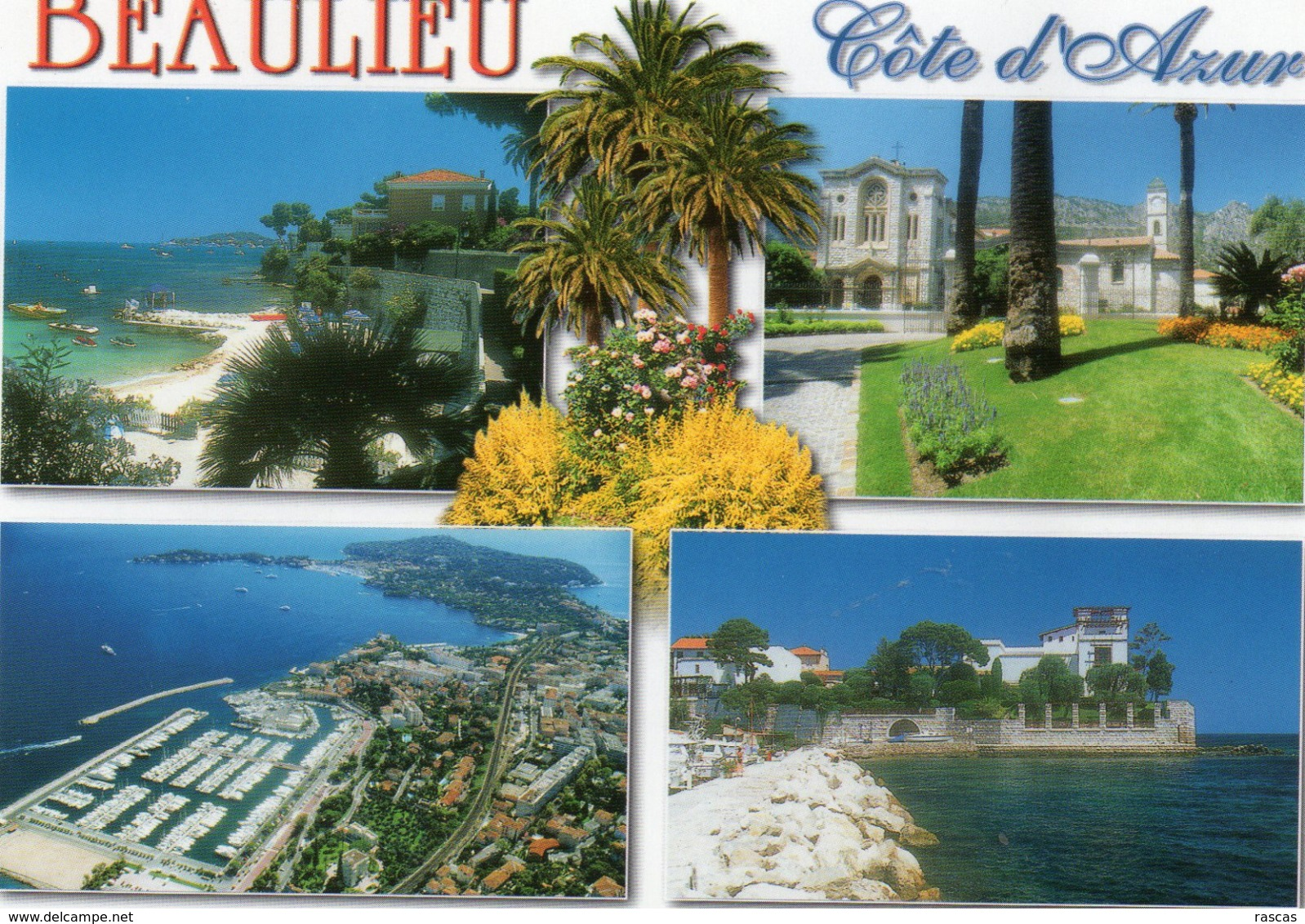 CPM - D - ALPES MARITIMES - BEAULIEU SUR MER - MULTIVUES - Beaulieu-sur-Mer