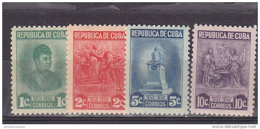 Cuba Nº 299 Al 302 - Nuevos