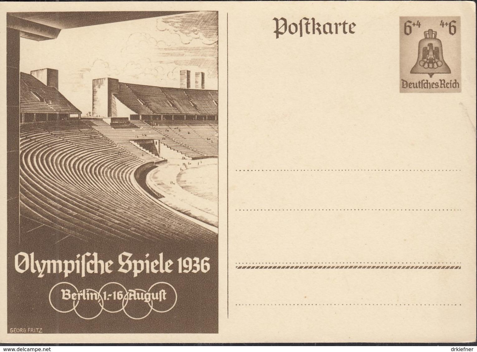 DR  P 259, Ungebraucht, Olympische Sommerspiele 1936 - Allemagne