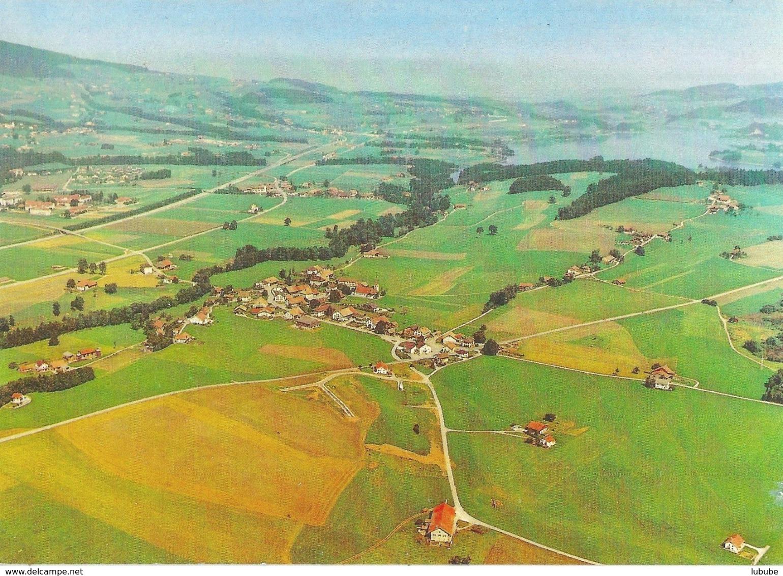 Echarlens - Vue Aérienne         Ca. 1980 - FR Fribourg