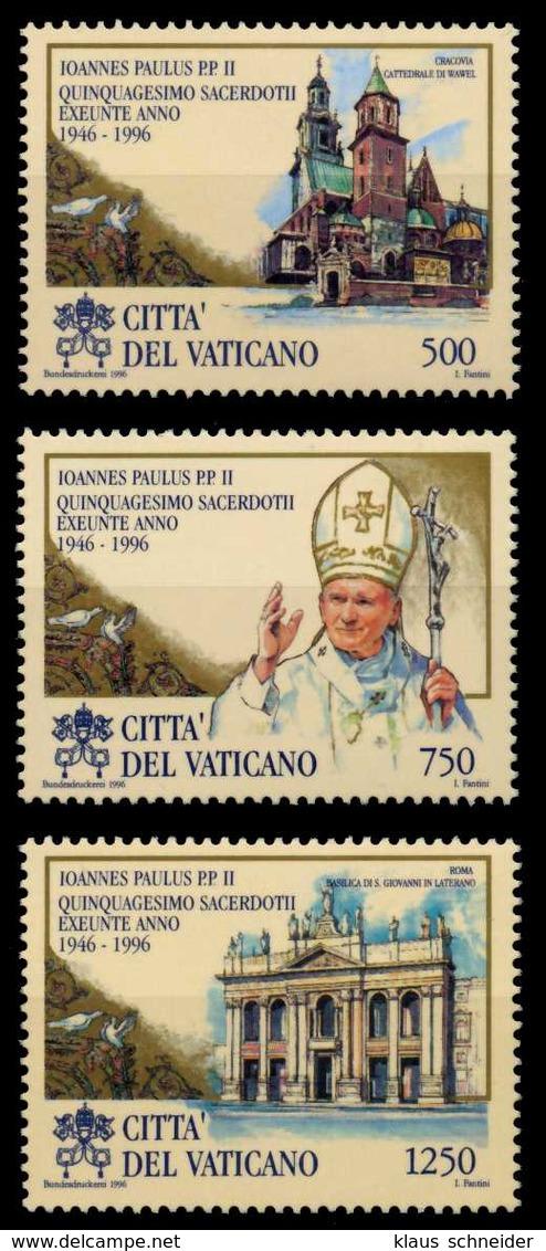 VATIKAN 1996 Nr 1181-1183 Postfrisch S0160DA - Vatican