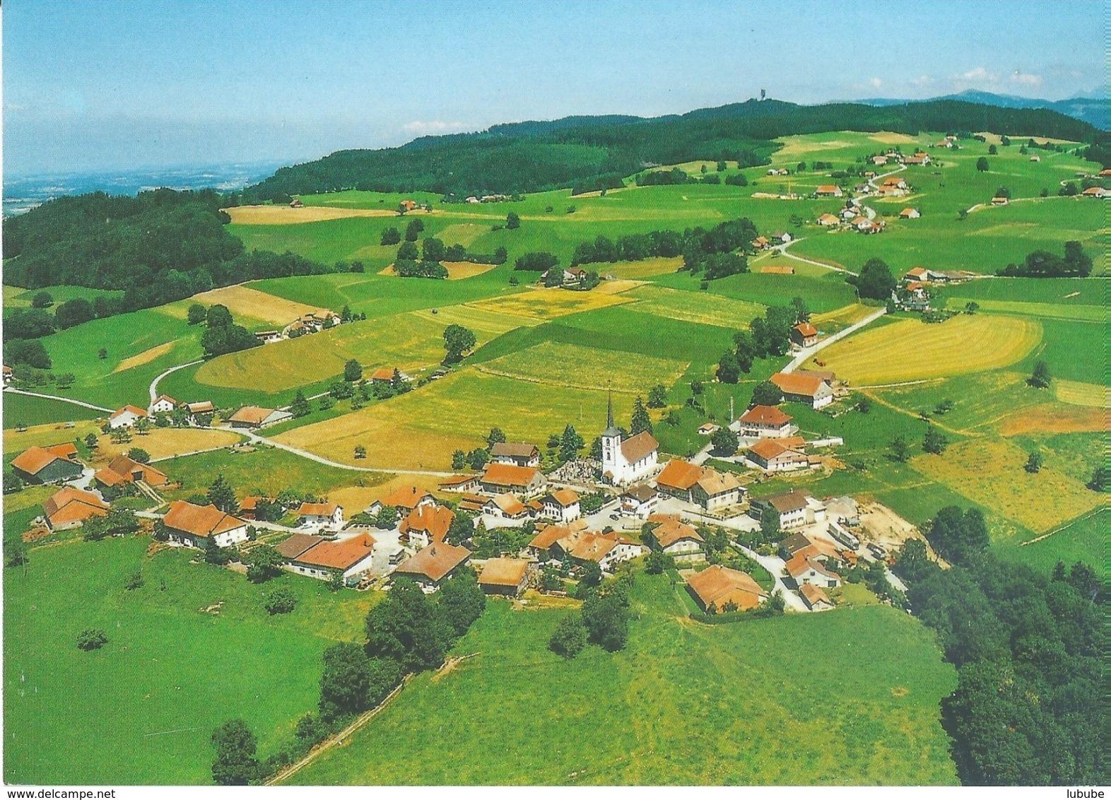Châtelard FR - Vue Aérienne         Ca. 1980 - FR Fribourg