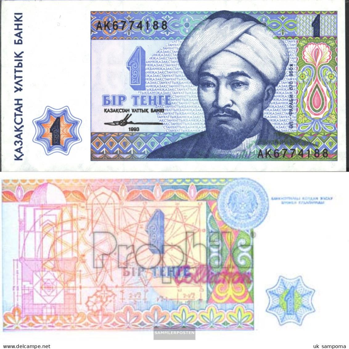Kazakhstan Pick.number: 7a Uncirculated 1993 1 Tengé - Kazakhstan
