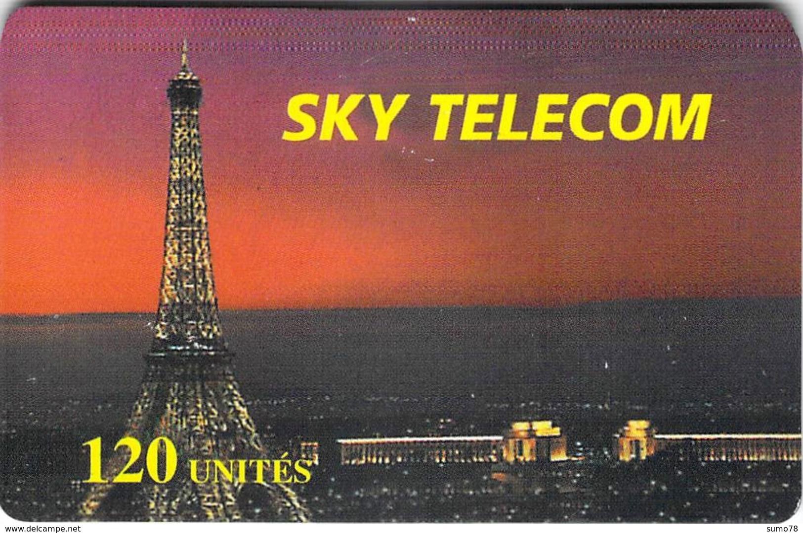 SKY TELECOM   -  Prépaid - Carte Prépayée  - - Frankrijk