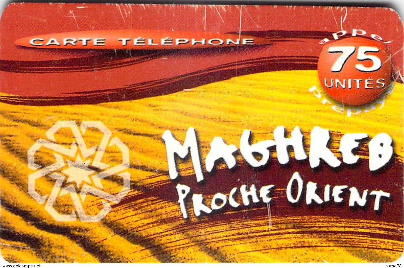 MAGHREB PROCHE ORIENT  -  Prépaid - Carte Prépayée  - - Andere Voorafbetaalde Kaarten