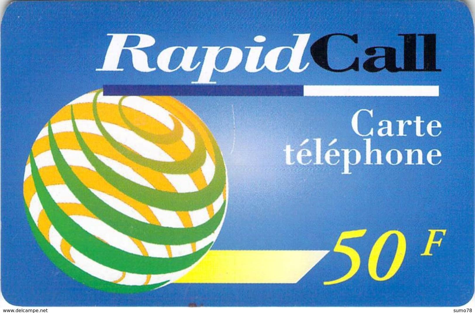 Carte Prépayée  - RAPID CALL  -  Prépaid  - - France