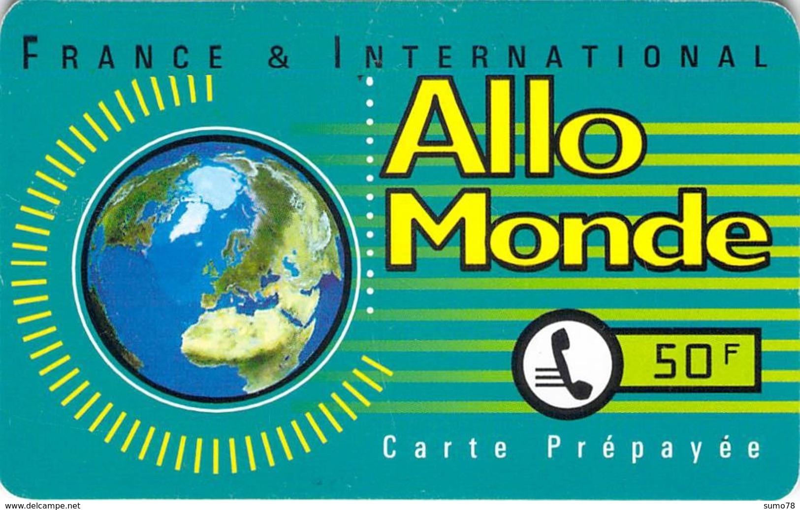 Carte Prépayée  - ALLO MONDE  -  Prépaid  - - Frankrijk