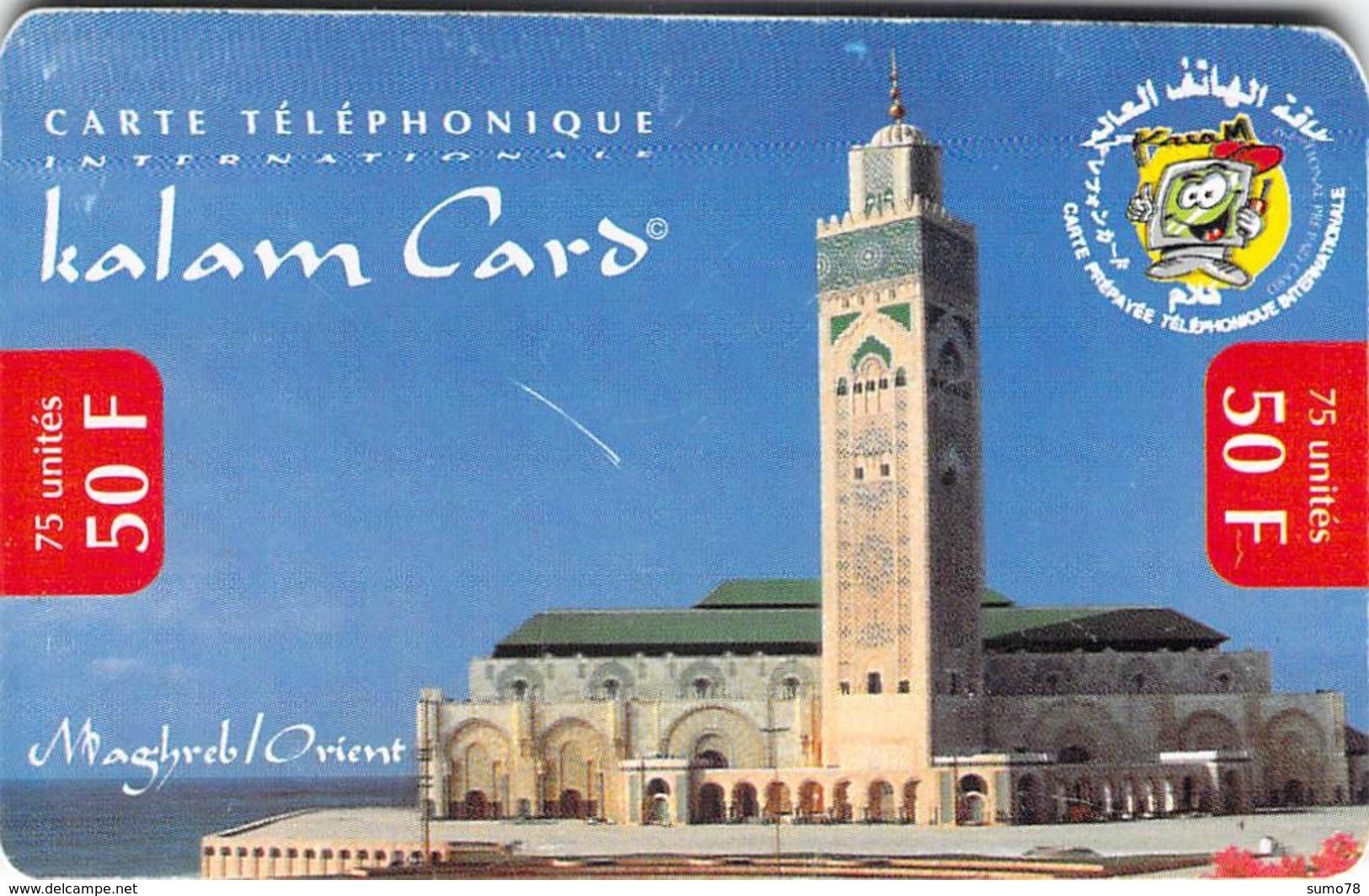 Carte Prépayée  - KALAM CARD  -  Prépaid - Frankrijk