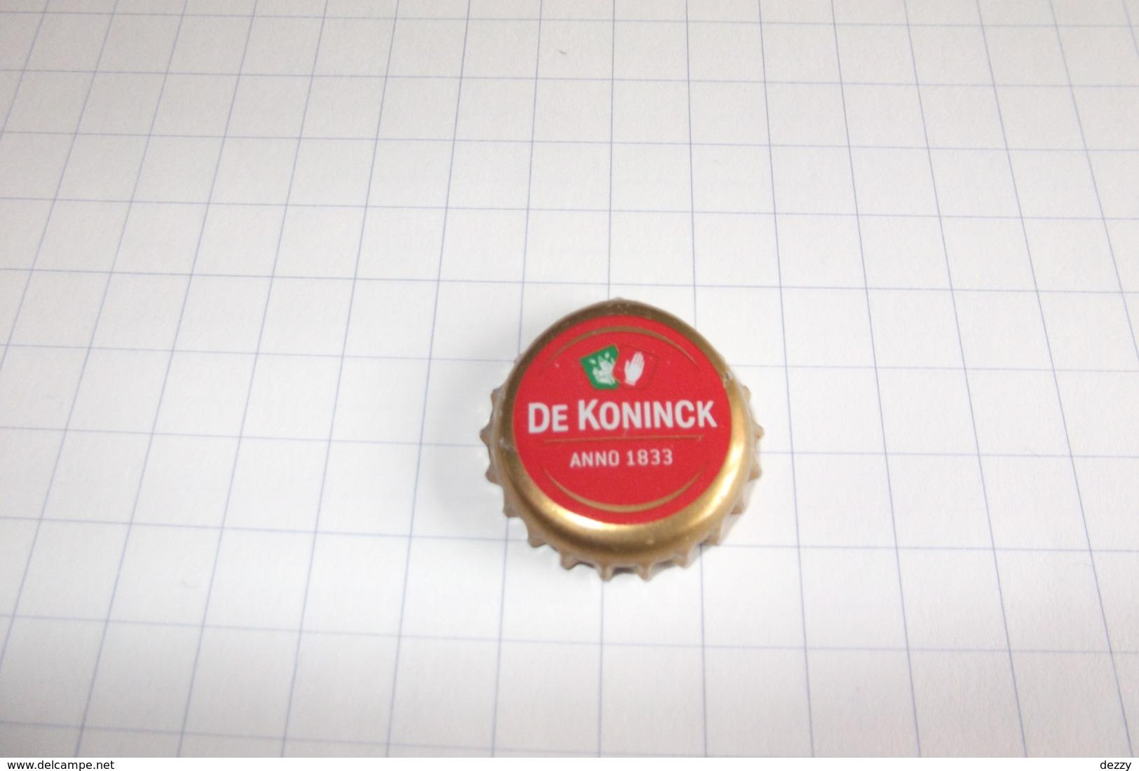 BEERCAPS BELGIUM/BIERDOPPEN BELGIË : De Koninck, Anno 1833 Amber Ambrée - Beer
