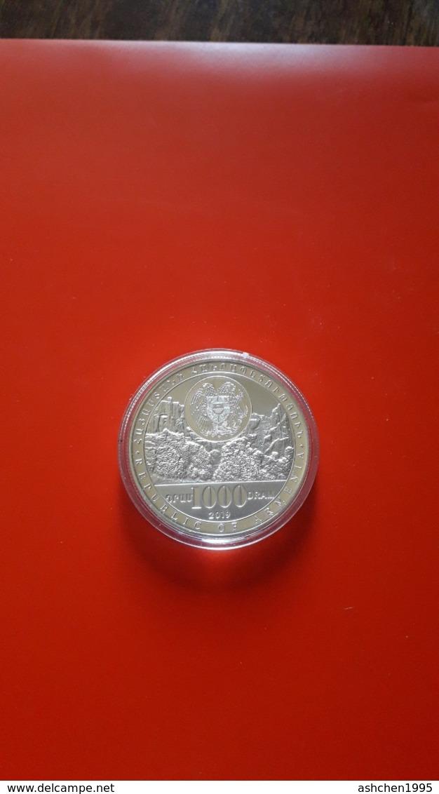 Armenien / Armenie / Armenia 2019, Year Of Caucasian Leopard, Fauna, Silver Coin In Box - PROOF - Armenia