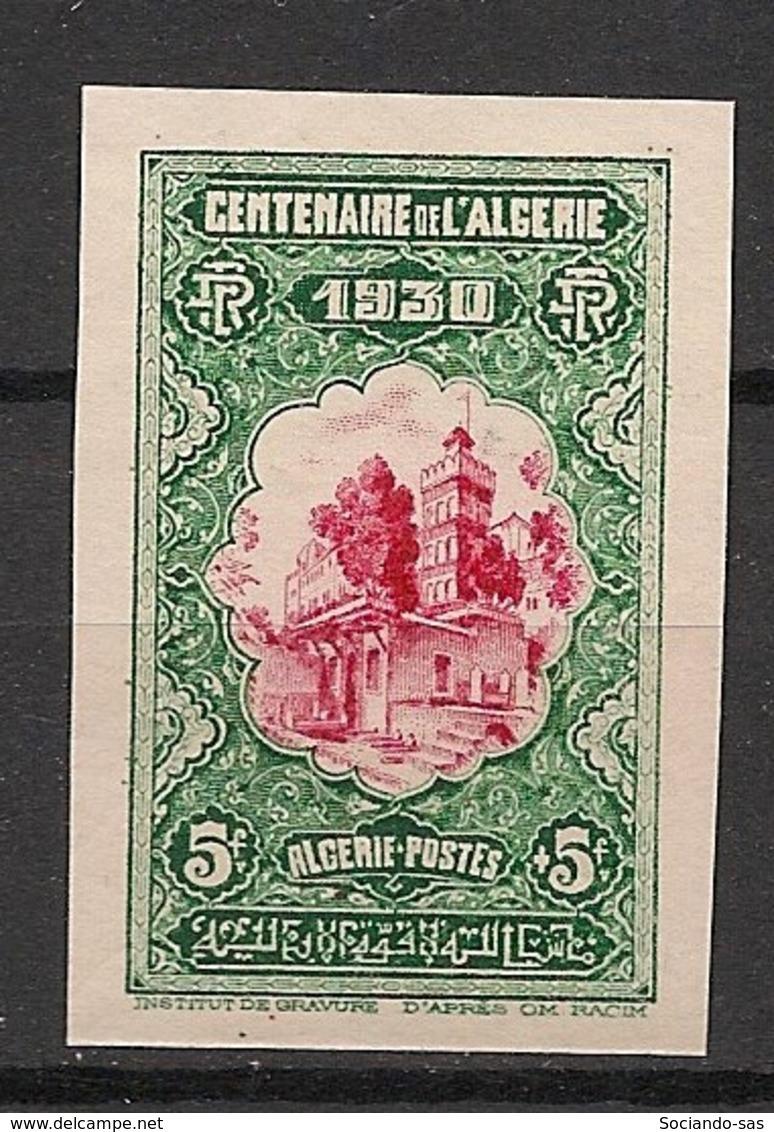 Algérie - 1930 - N°Yv. 99 - Centenaire 5f+5f - Non Dentelé / Imperf. - Neuf Luxe ** / MNH / Postfrisch - Algerien (1924-1962)