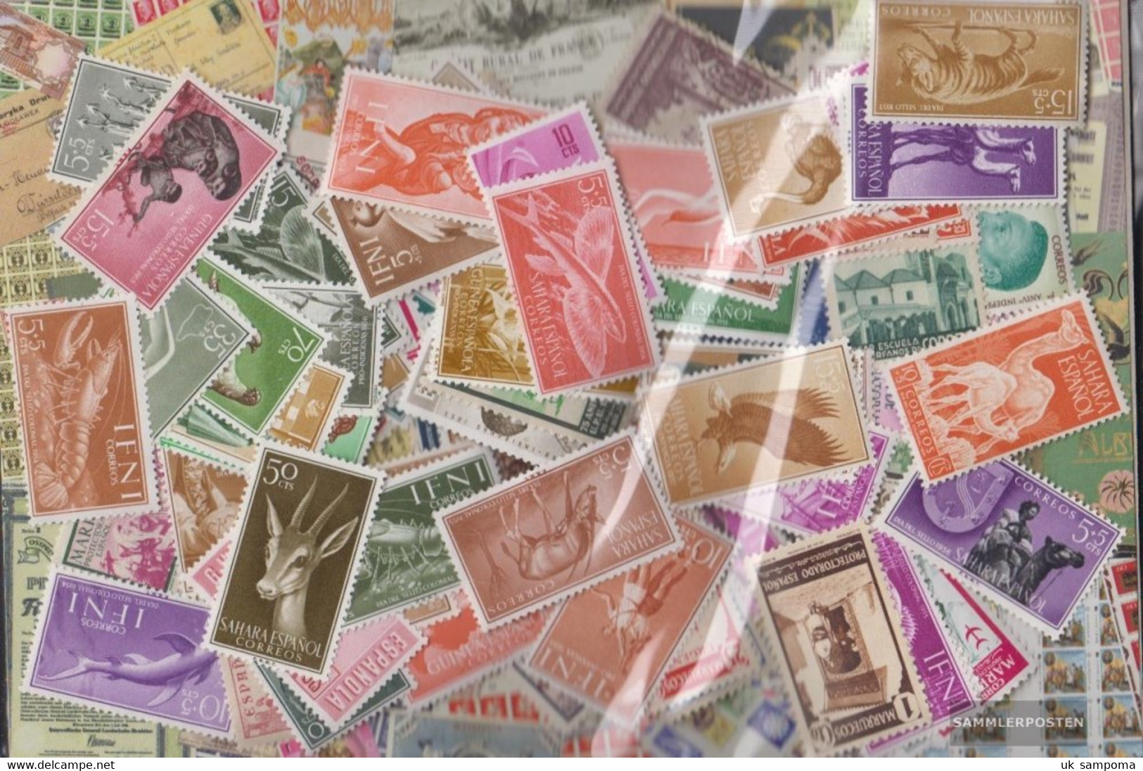 Spain Spanish Colonies With Independent States Stamps-1.500 Different Stamps - Collections