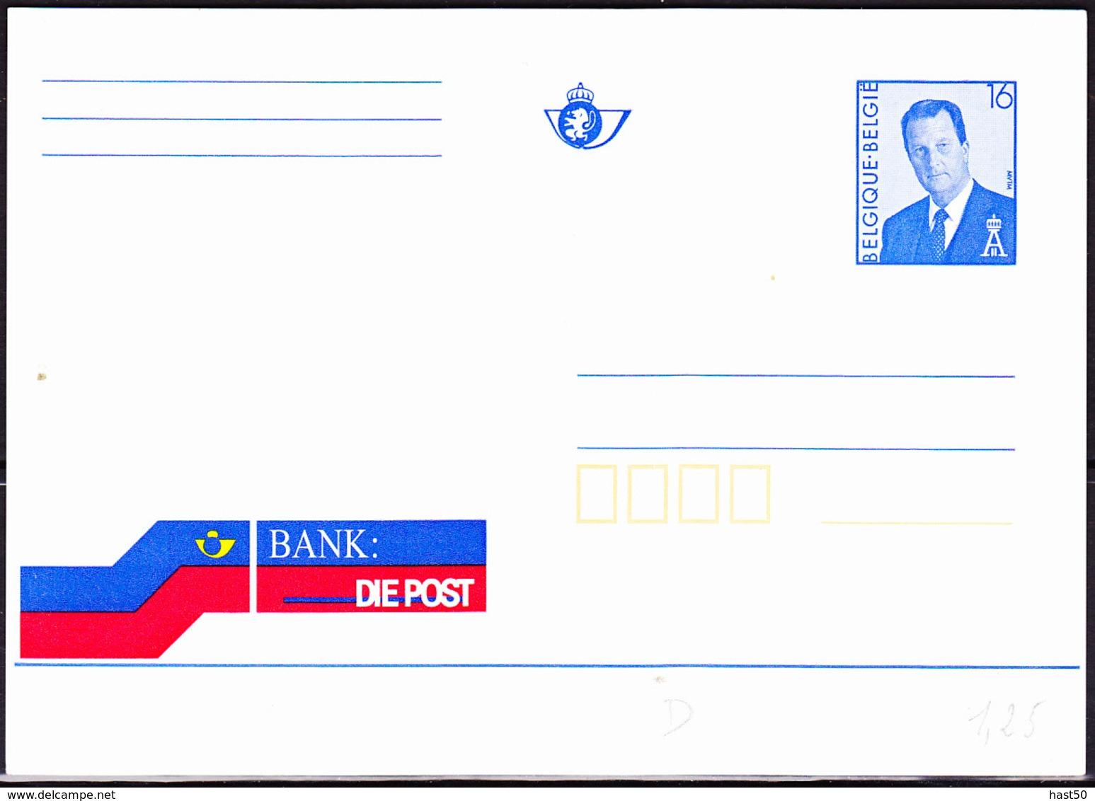 Belgien Belgium Belgique - Postkarte Postbank (MiNr: P509III) 1994 - Ungebraucht - Cartes Postales [1951-..]