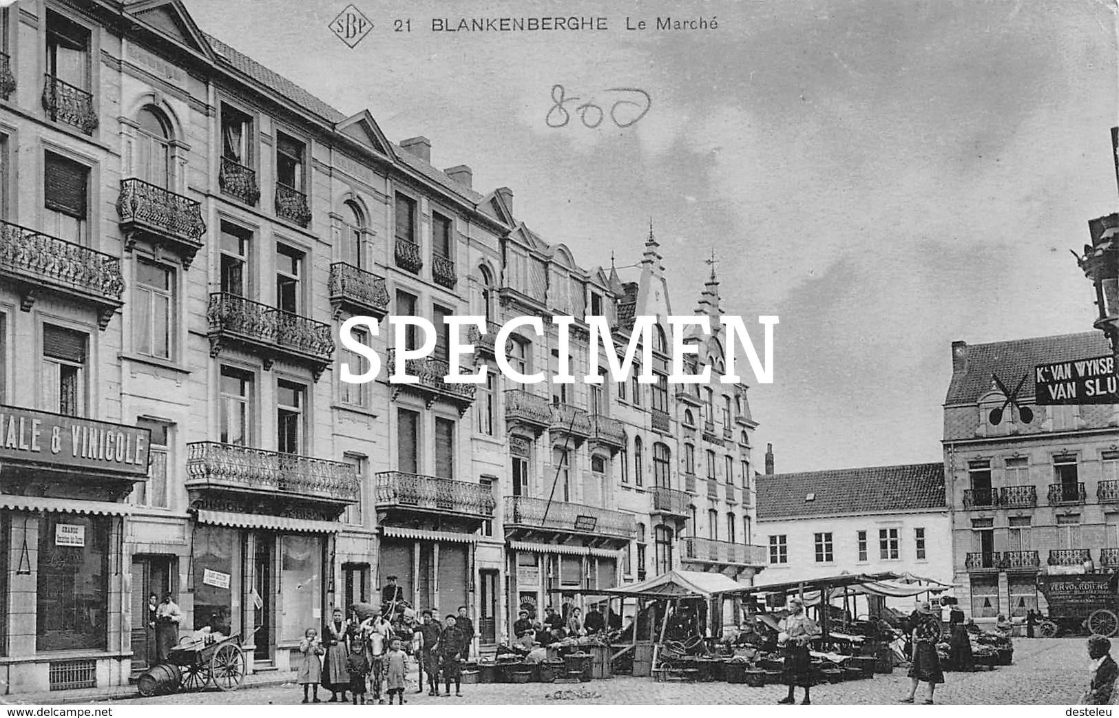 SBP 21 Le Marché - Blankenberge - Blankenberge