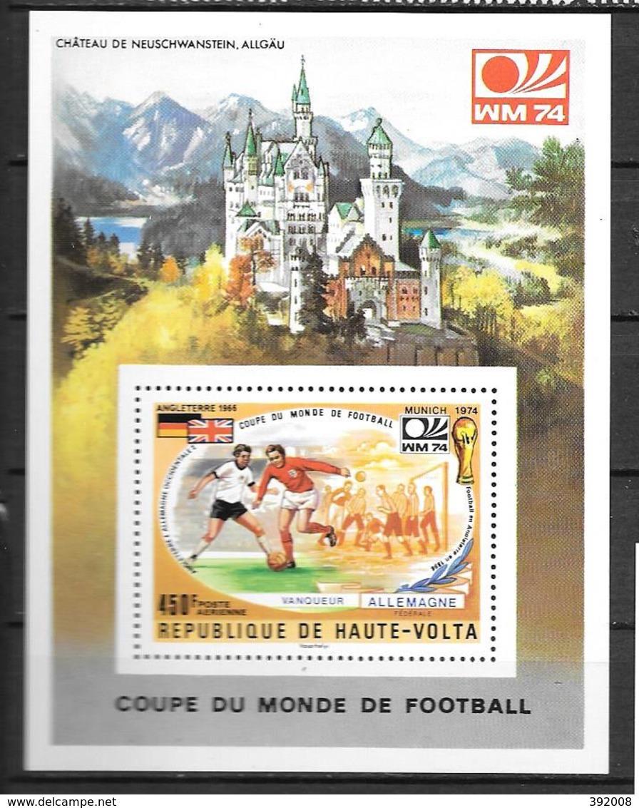 HAUTE VOLTA - BF 5Y**MNH - Fußball-Weltmeisterschaft
