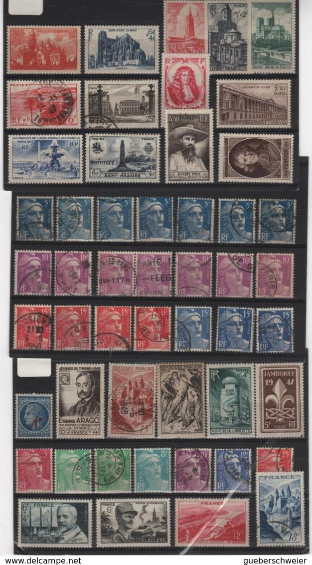 Carton De 3,5 Kg De Timbres, Lettres, Entiers Postaux, Aérogrammes, Beau Lot De Timbres De France Et Colonies - Collections