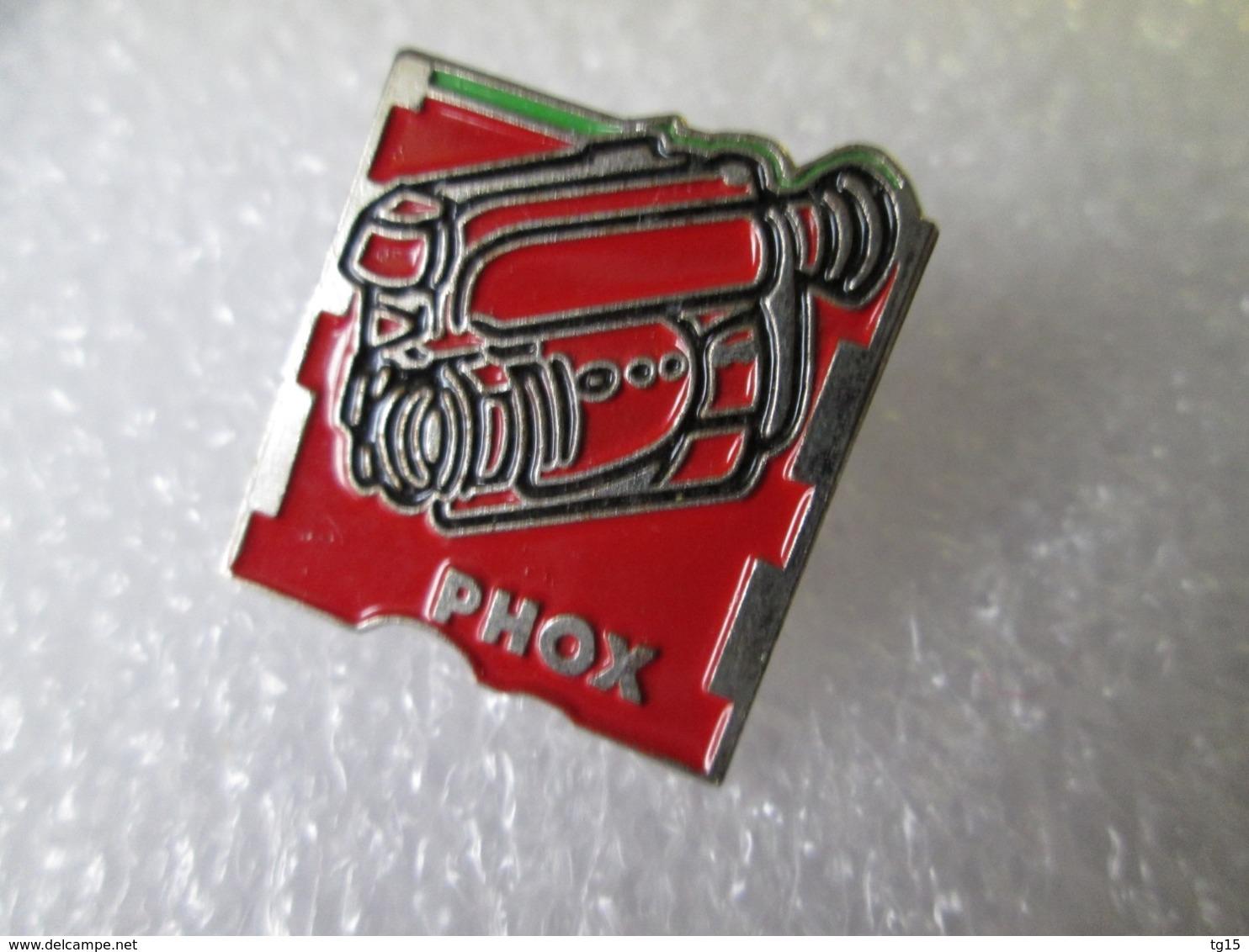 PIN'S   PHOX  CAMERA - Fotografie