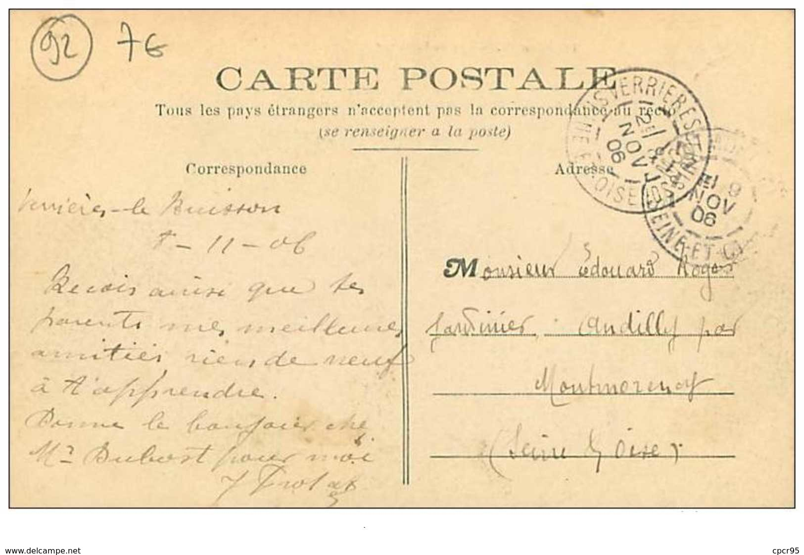 92.SCEAUX.n°326.RUE DE FONTENAY - Sceaux