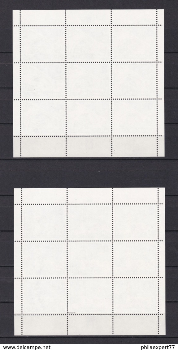 Jugoslawien - 1982 - Michel Nr. 1950/1953 - Kleinbogensatz 4 Klb. - Postfrisch - 25 € - 1945-1992 Sozialistische Föderative Republik Jugoslawien