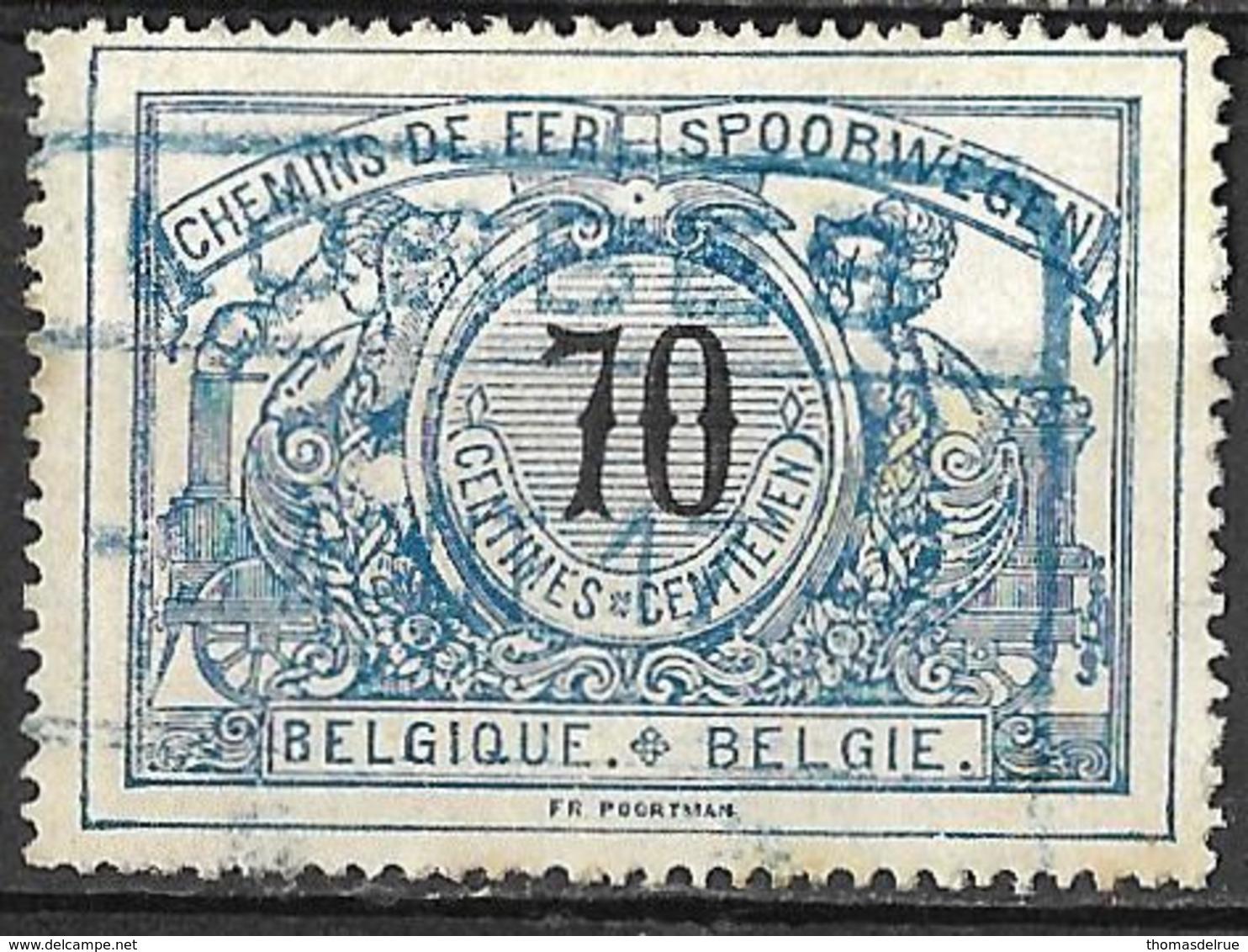 C0.16: LOBBES: TR23 : Blauwe Stempel - 1895-1913