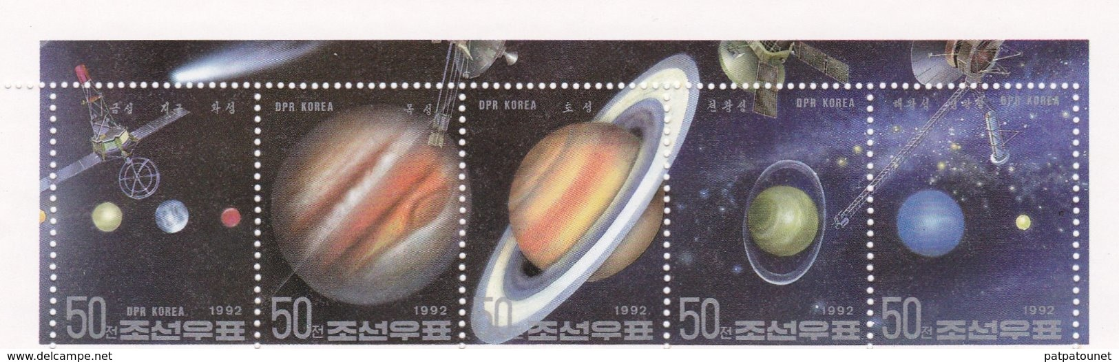 Corée Du Nord MNH Galaxies - Astrologia