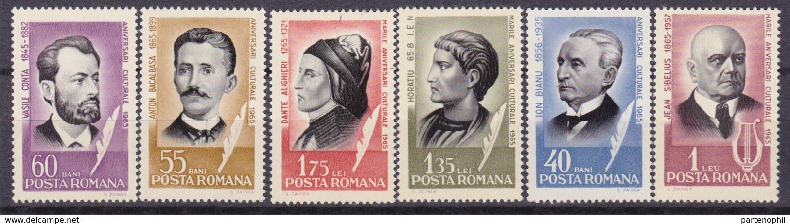 Romania - Illustri Personalità / Distinguished Personality  Set MNH - Celebrità