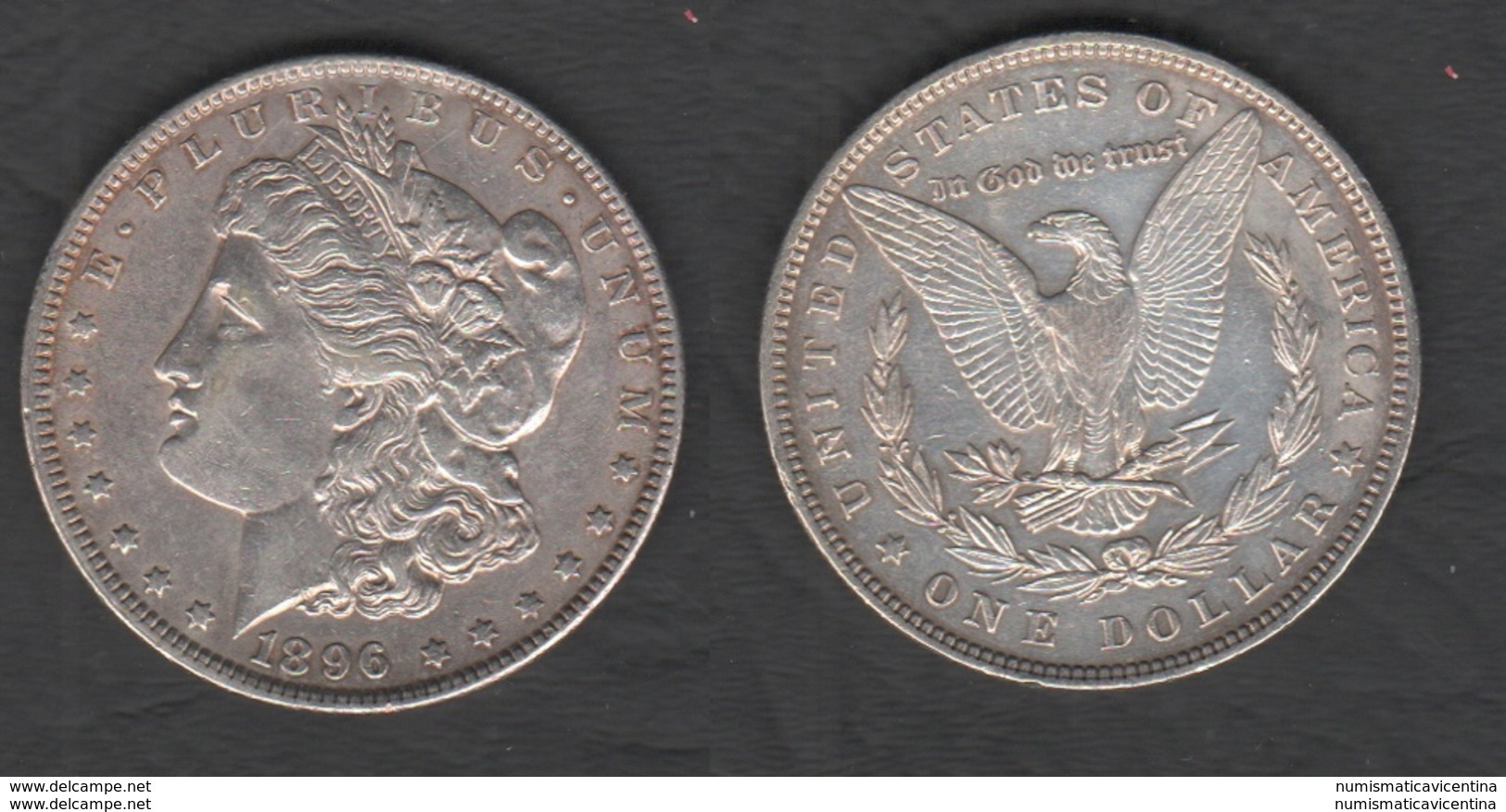 Dollaro 1896 Usa Dollar United States Of America Dollari $ - Emissioni Federali