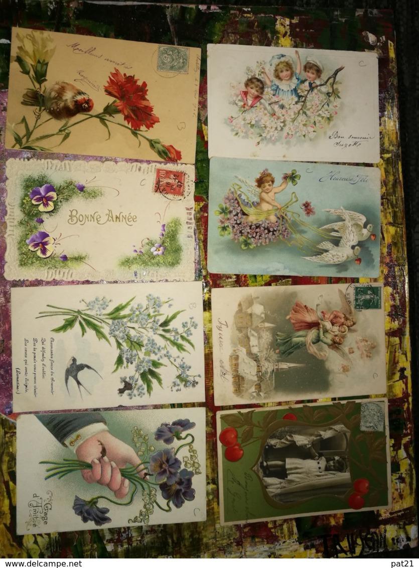 FANTAISIE Lot De  75 Cpa   De Super à Top   Voir Scans   Port FRANCE = 6,25€ - Cartes Postales