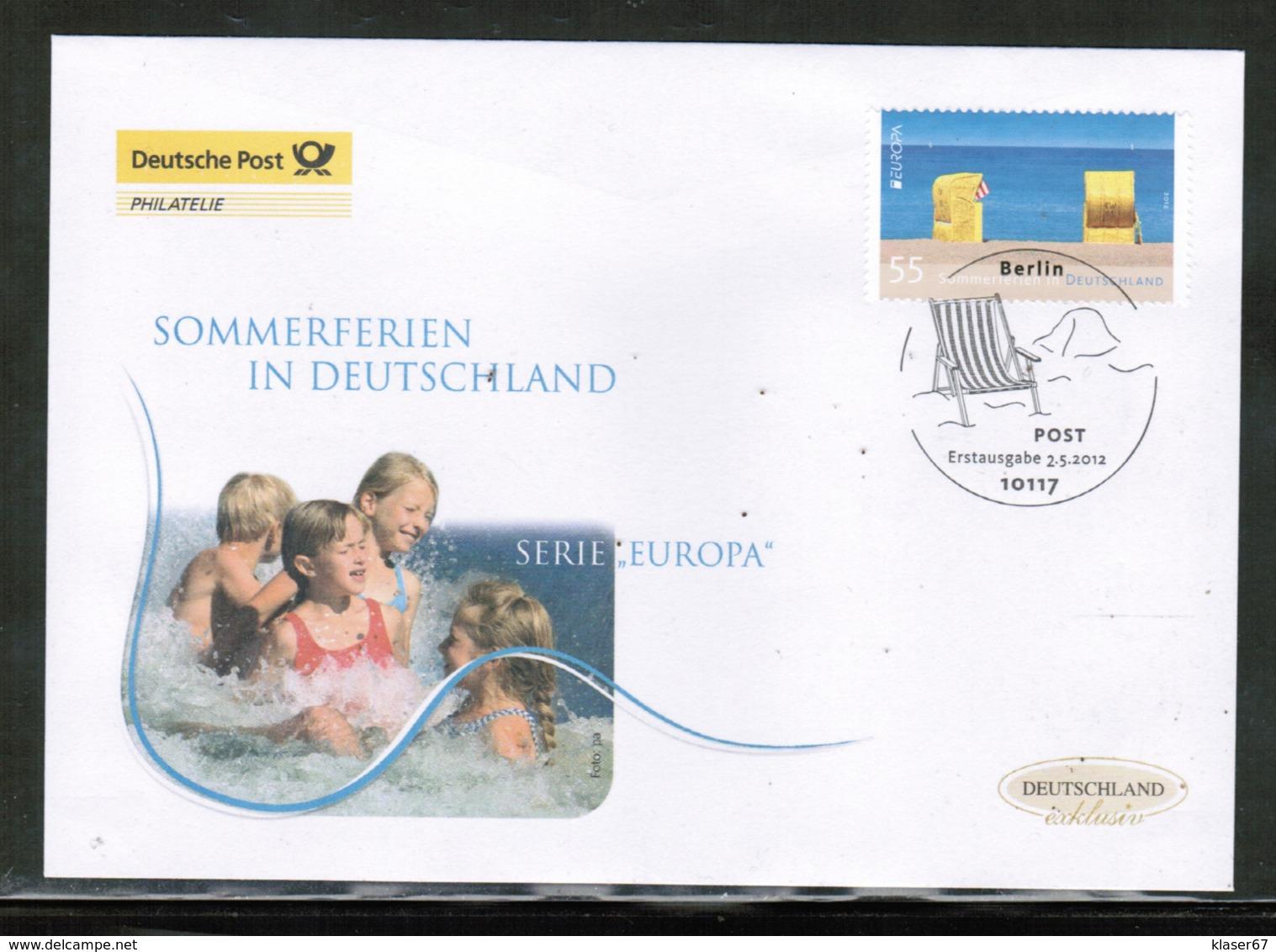 CEPT 2012 DE MI 2933 GERMANY FDC - 2012