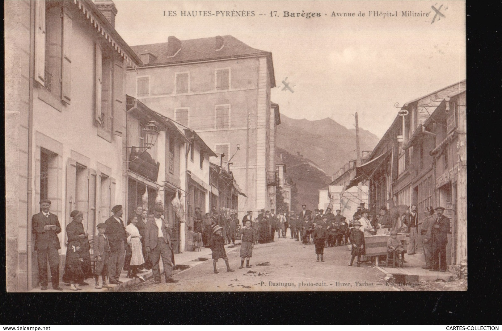 CPA//062.....BAREGES - Francia