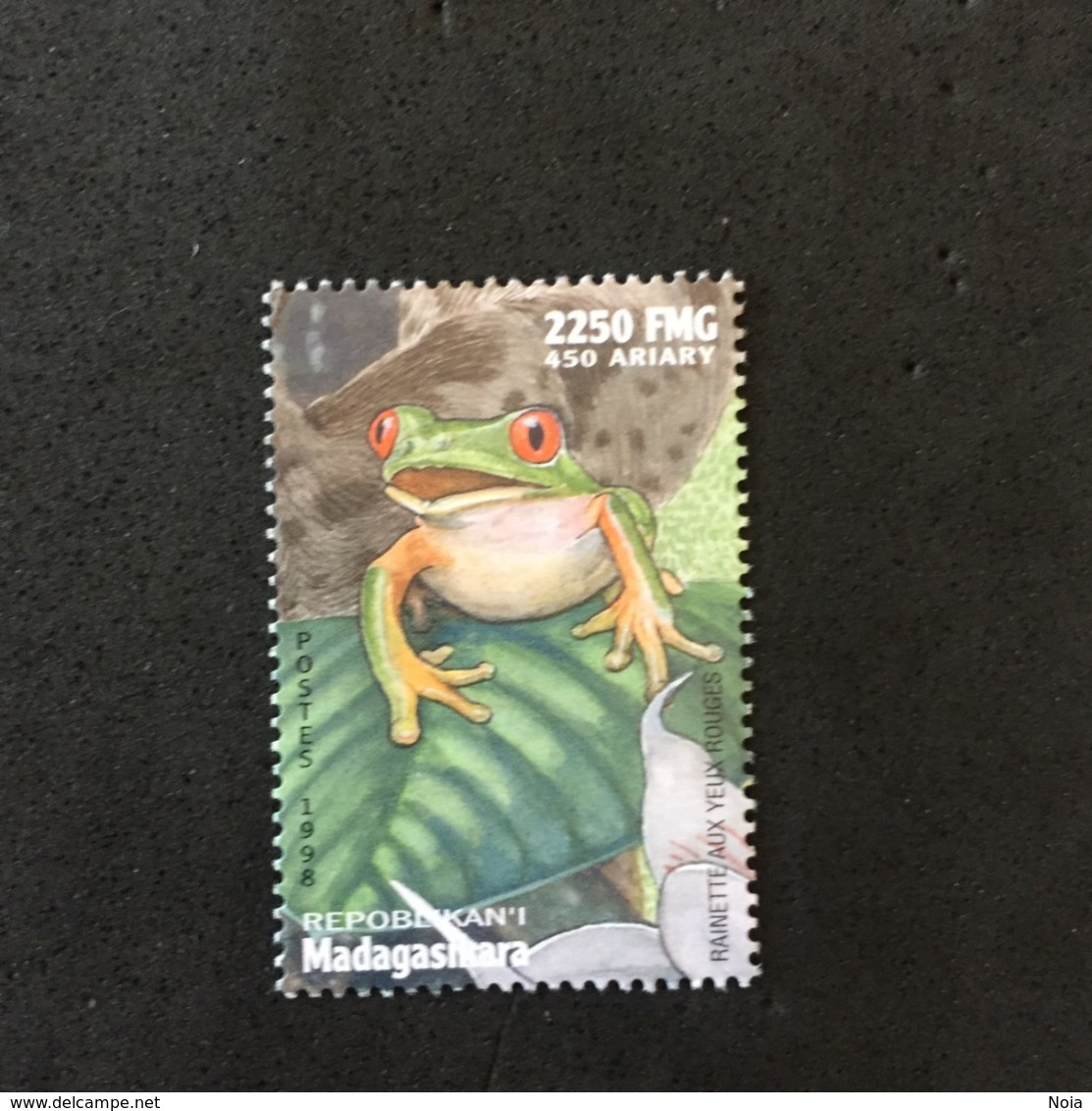 MADAGASCAR. FROG. MNH. 5R1206A - Frogs