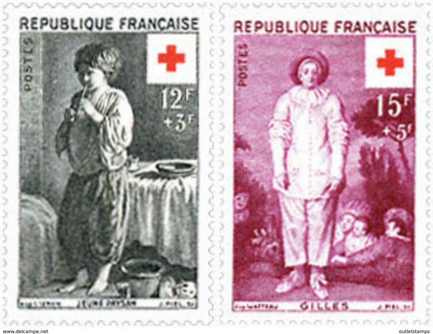 Ref. 65495 * NEW *  - FRANCE . 1956. RED CROSS WELFARE FUND. PRO CRUZ ROJA - Francia