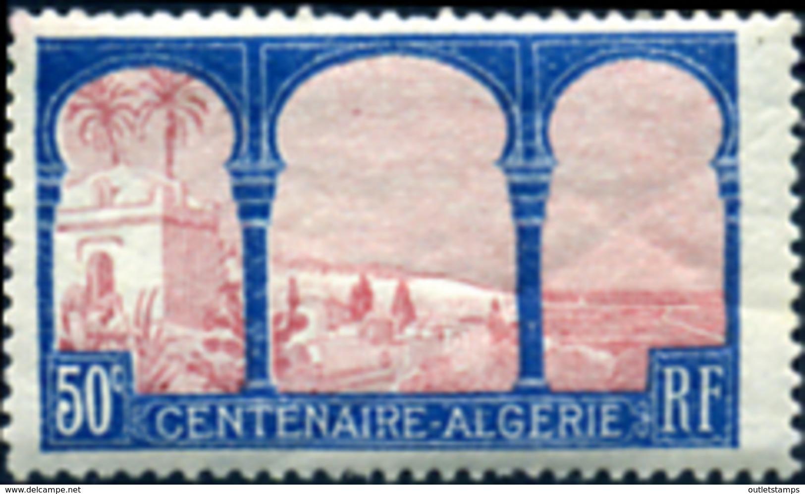 Ref. 120217 * NEW *  - FRANCE . 1930. CENTENARY OF THE FRENCH ALGERIA. CENTENARIO DE LA ARGELIA FRANCESA - Nuevos