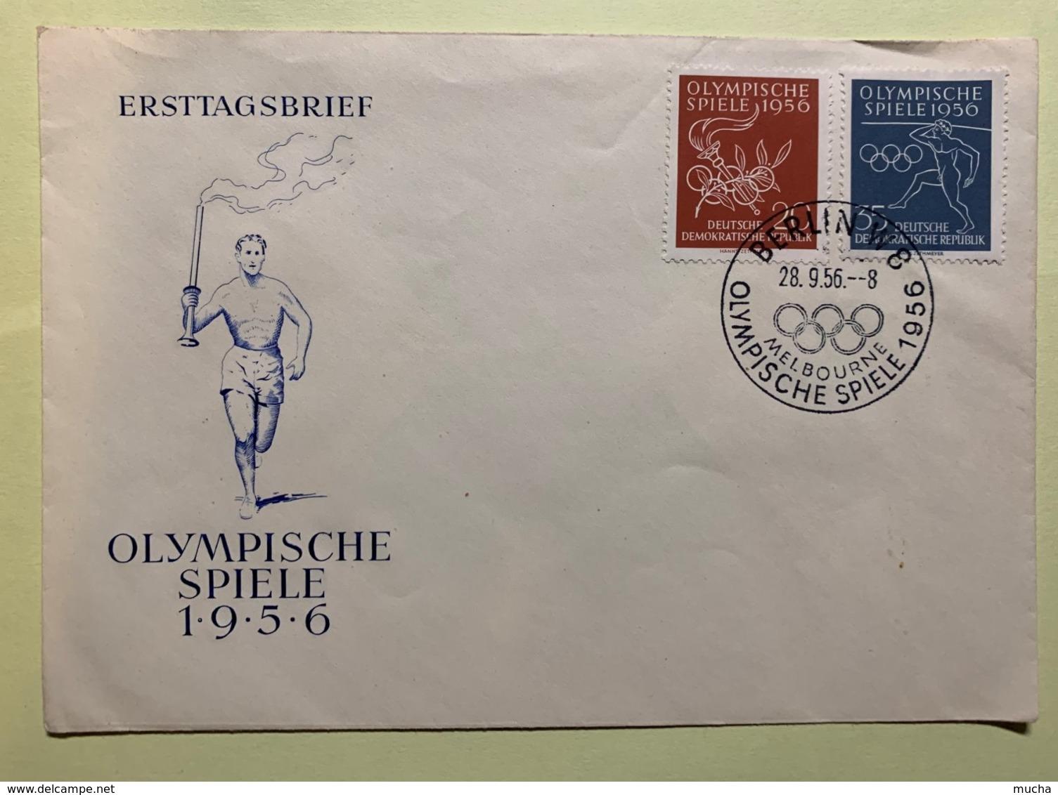 9094 -  DDR Olympische Spiele 1956 Melbourne Berlin 28.09.1956 - Sommer 1956: Melbourne