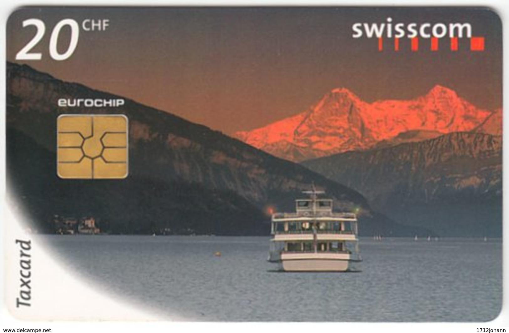 SWITZERLAND C-264 Chip Swisscom - Traffic, Ship - Used - Suisse