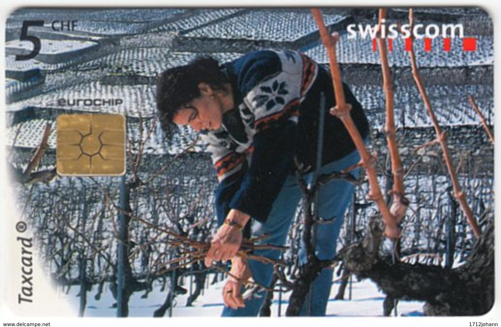SWITZERLAND C-290 Chip Swisscom - Used - Suisse