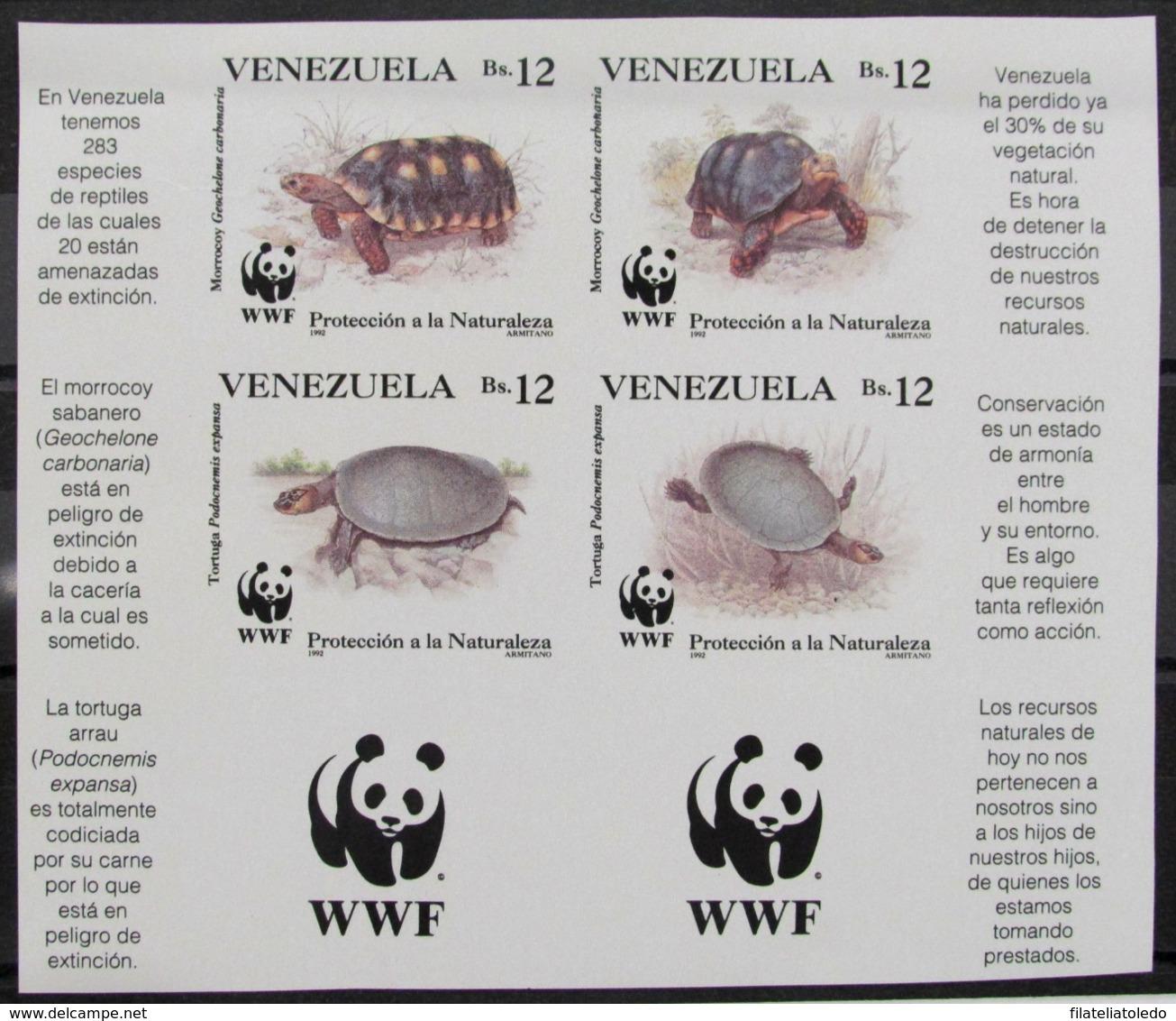Venezuela 1584/7 (*) - Venezuela