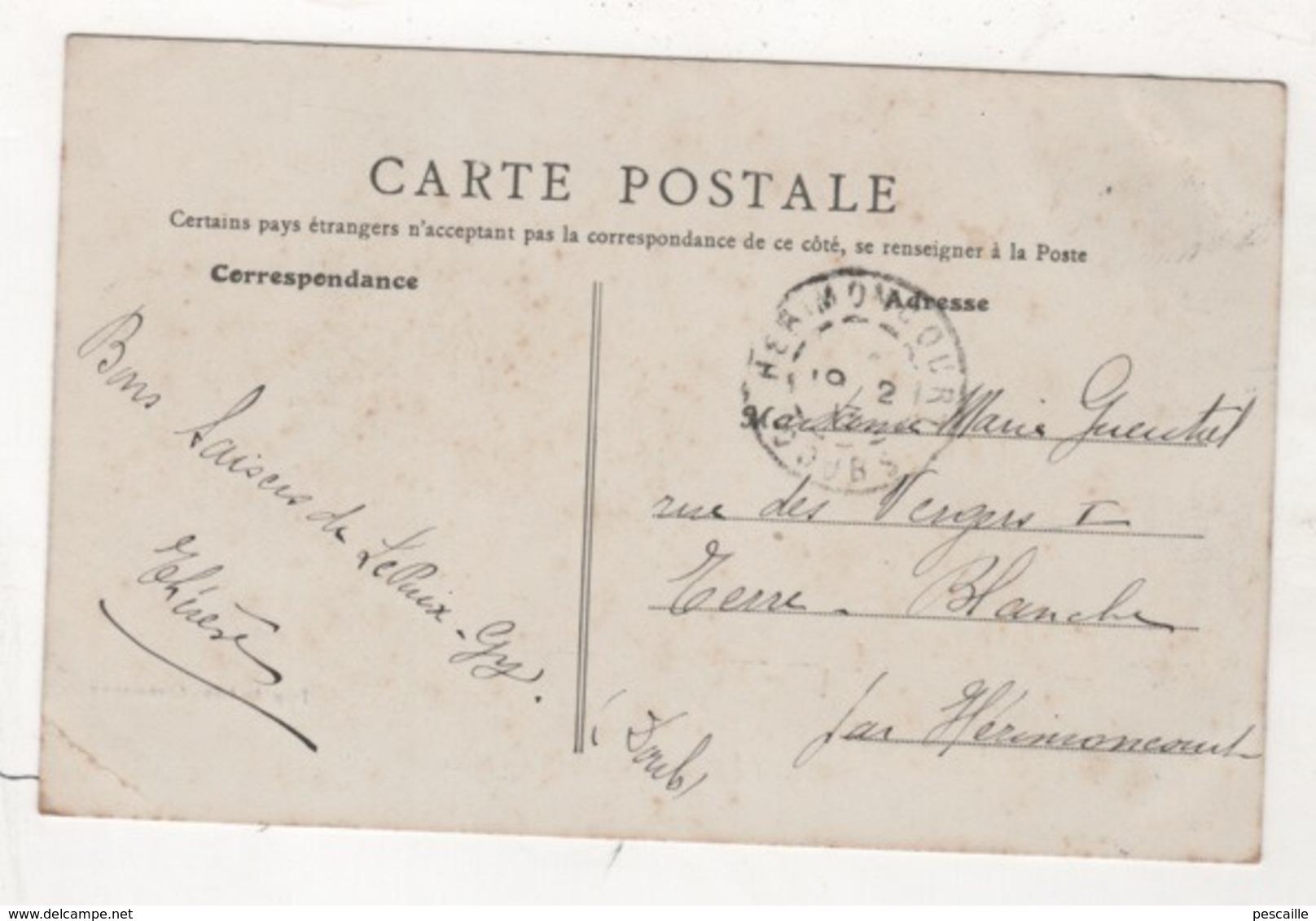 90 TERRITOIRE DE BELFORT - CP LES VOSGES ILLUSTREES  LE PUIX ( LEPUIX ) GY - ECOLE DES FILLES - IMP ANDRES GIROMAGNY 526 - Francia