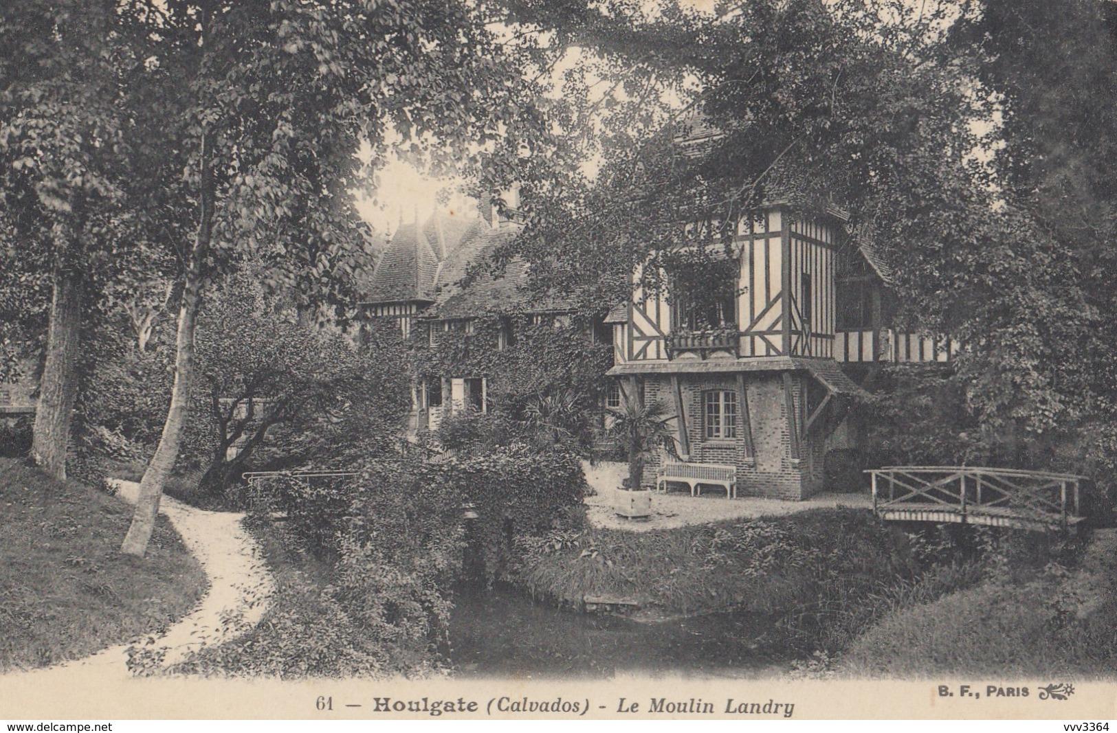 HOULGATE (Calvados): Le Moulin Landry - Houlgate