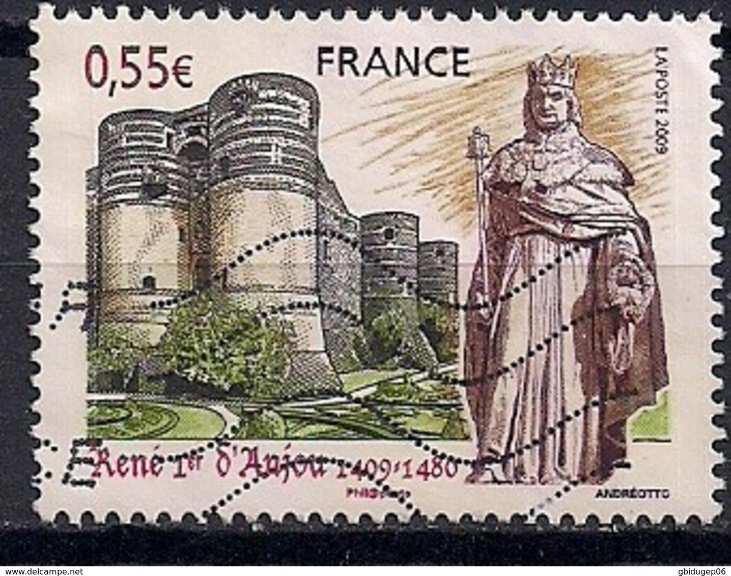YT N° 4326 - Oblitéré - René I D'Anjou - Frankreich