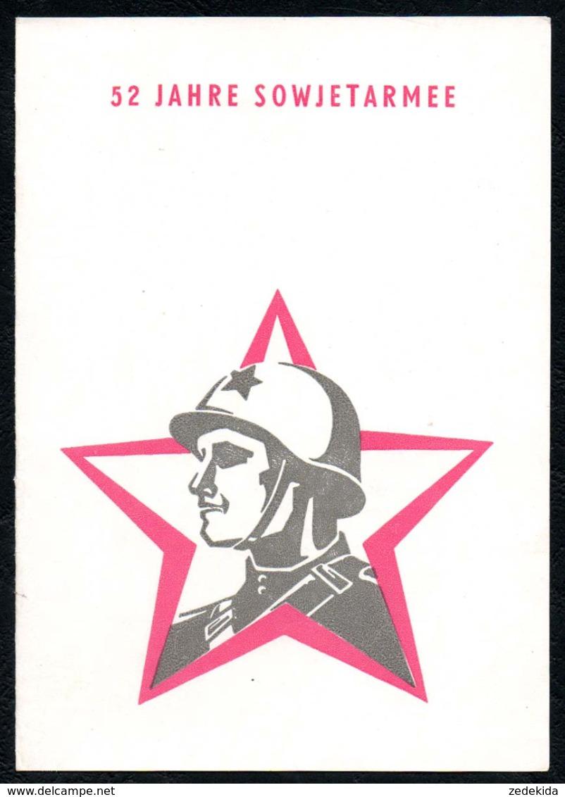 C9449 - Ilmenau Lindenlichtspiele - NVA Nationale Volksarmee - Propaganda Programm Eintrittskarte 1970 - Ereignisse