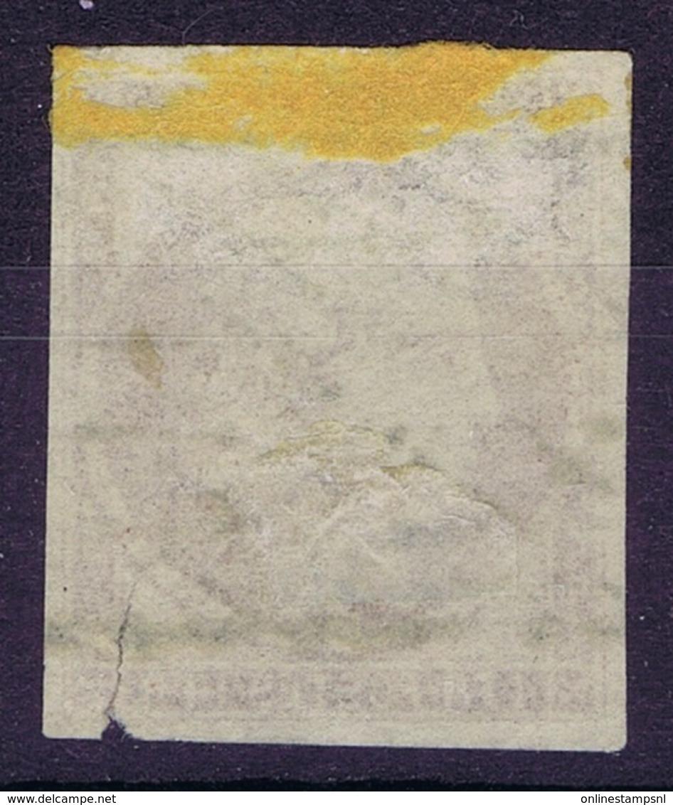 France: Yv 6  Obl./Gestempelt/used   Damaged  Avec Dommages - 1849-1850 Cérès