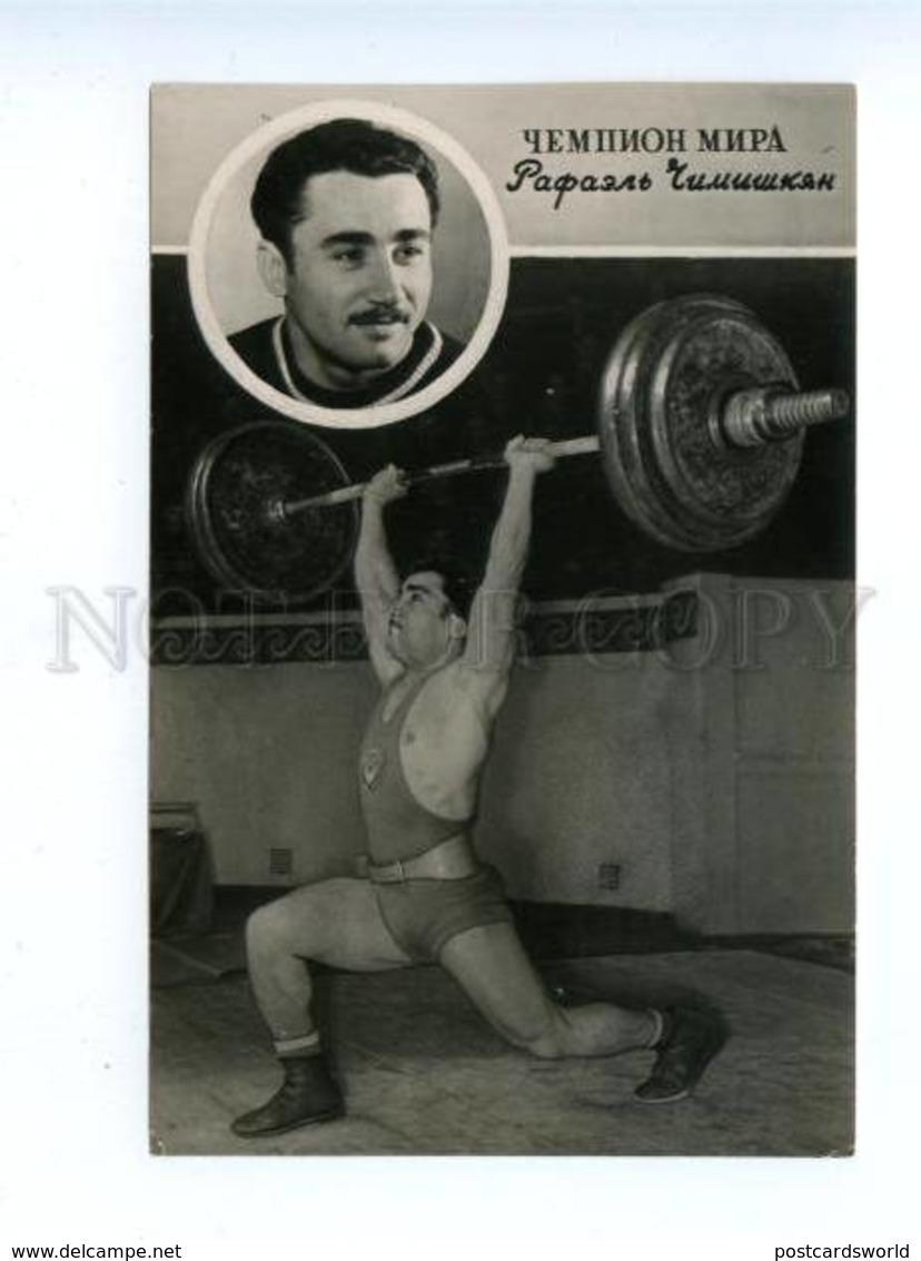 165286 Rafael CHIMISHKYAN Soviet Georgian Weightlifter Olympic - Olympic Games
