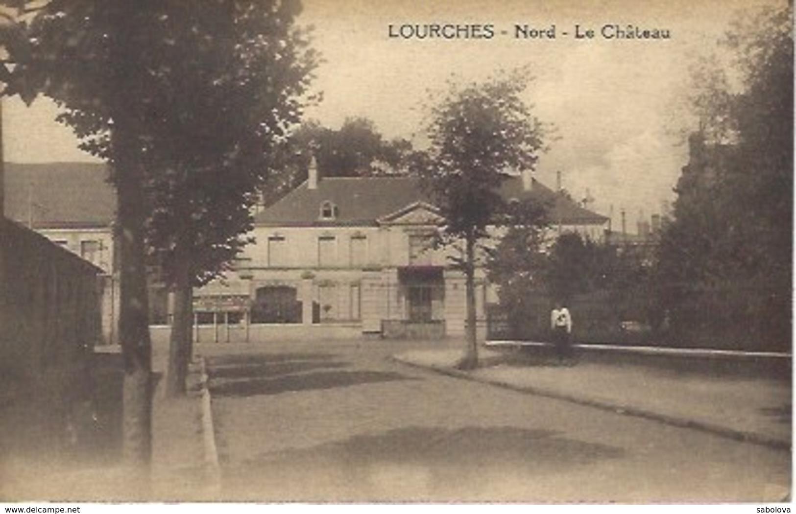 Lourches Près Lille Le Château - Francia