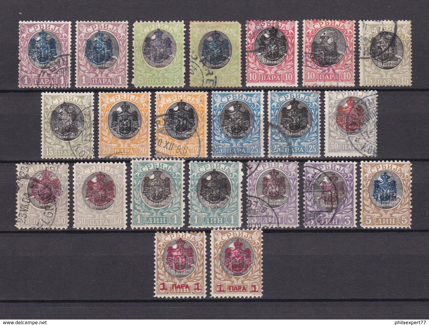 Serbien - 1903 - Michel Nr. 62/72 - 60 Euro - Serbien