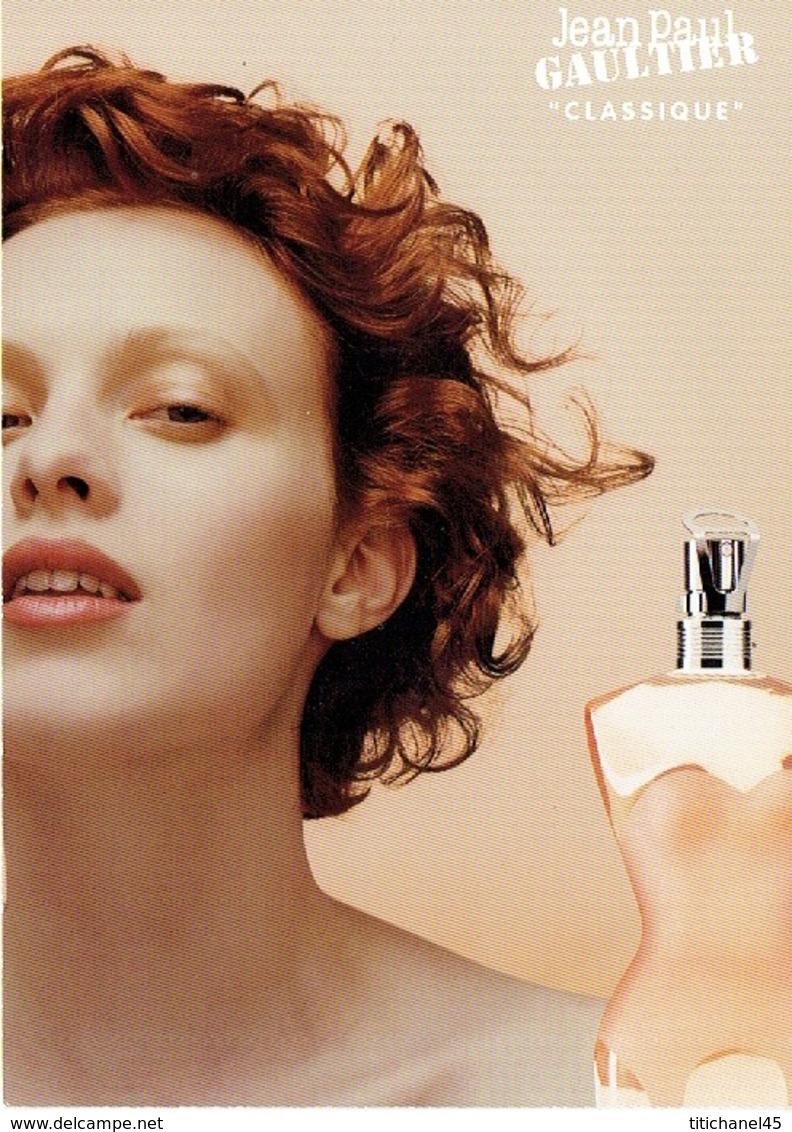 "Grande Carte Glacée Jean-Paul GAULTIER  ""CLASSIQUE"" - Perfume Card USA - Cartes Parfumées"