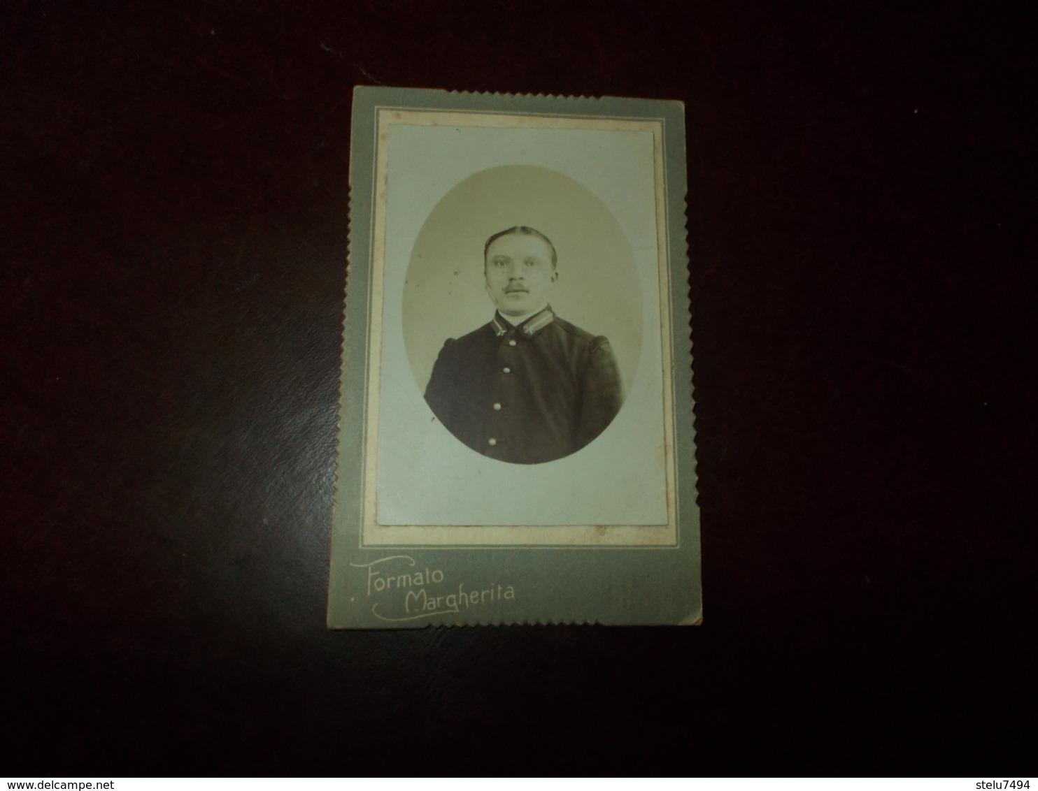 B655  Foto  Cartonata Militare Cm14x8circa Leggera Screpolatura E Pieghine - Foto