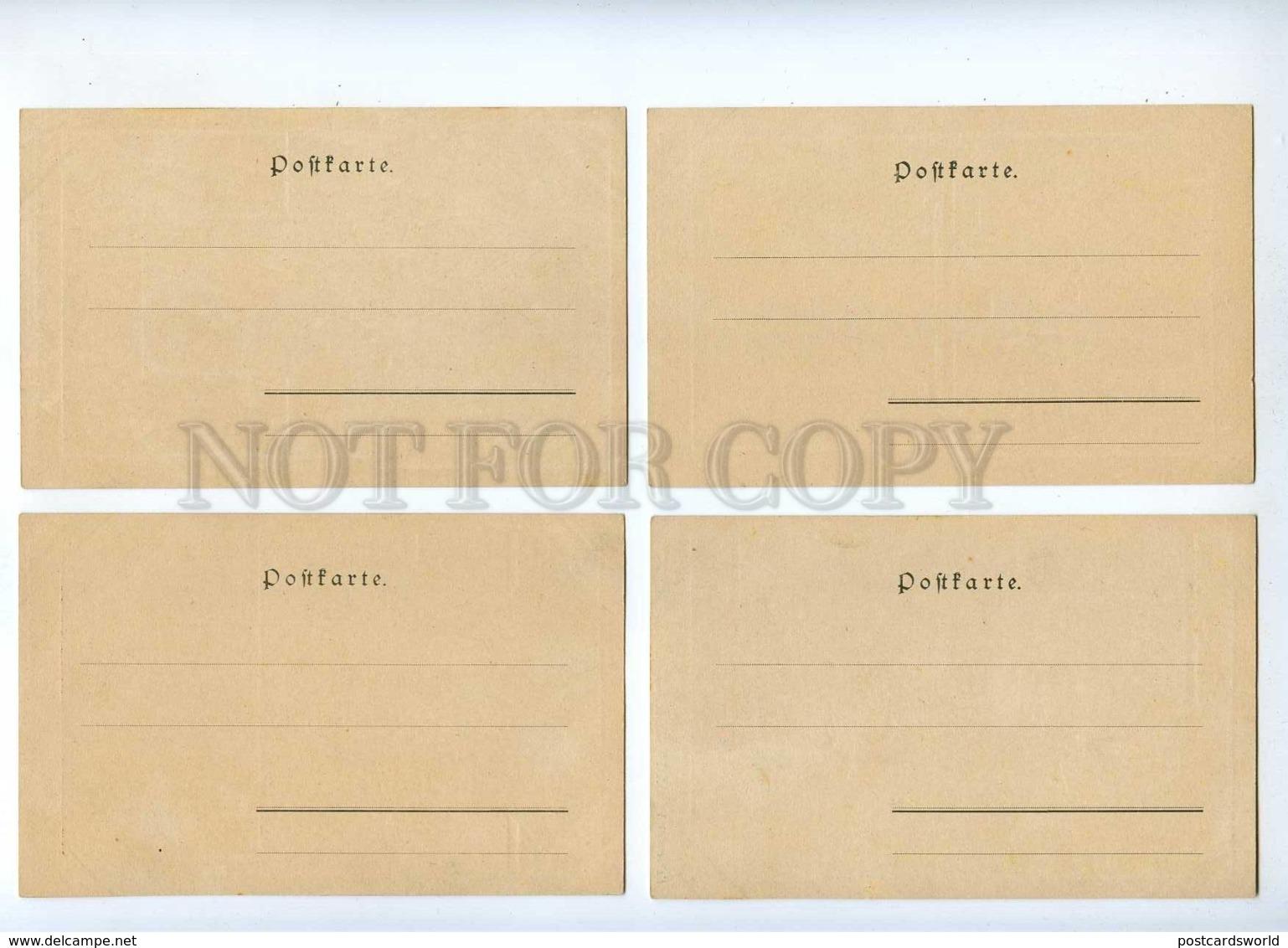 189344 CIRCUS ML LENZ Set 10 Cards ART NOUVEAU PHILIPP KRAMER - Illustrators & Photographers