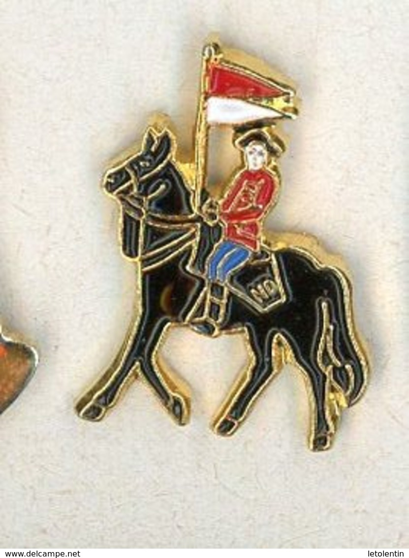 N# - PIN'S:  CAVALERIE - Militaria